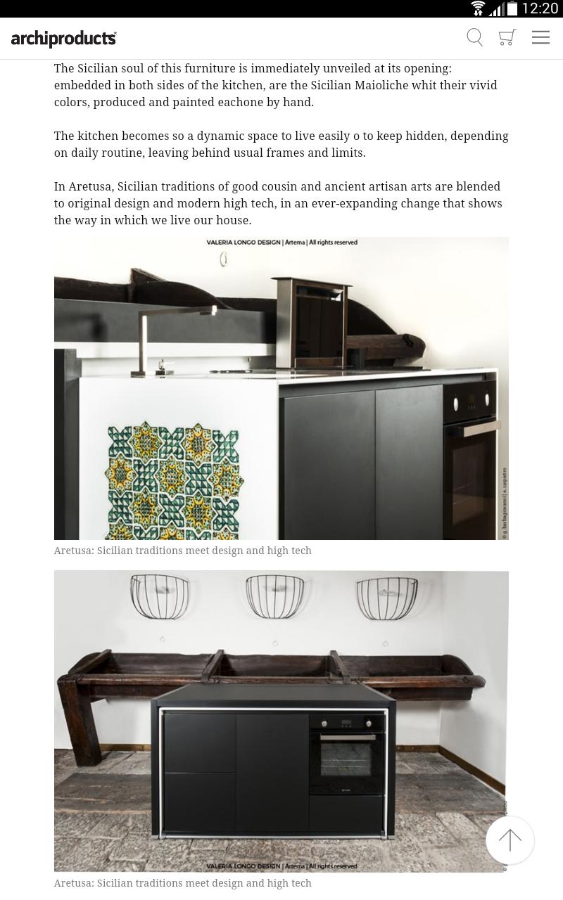 Kitchen High Tech Sharp Home Design
